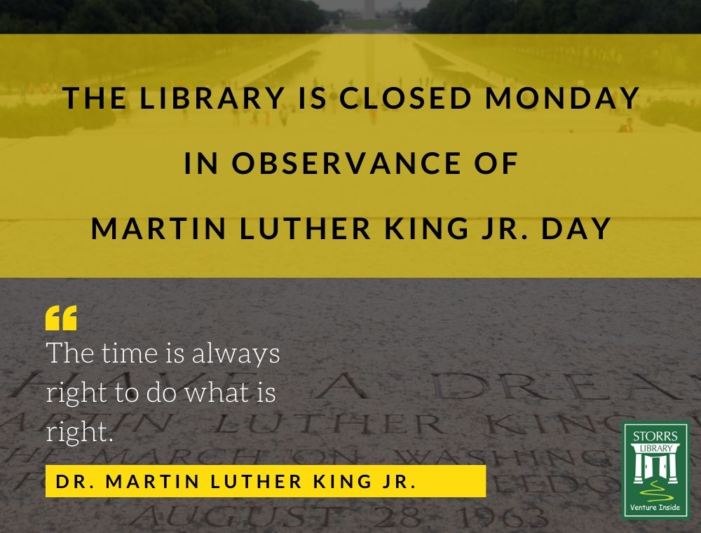Flyer For Martin Luther King Jr. Day