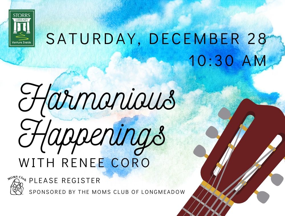 Flyer for Harmonious Happenings