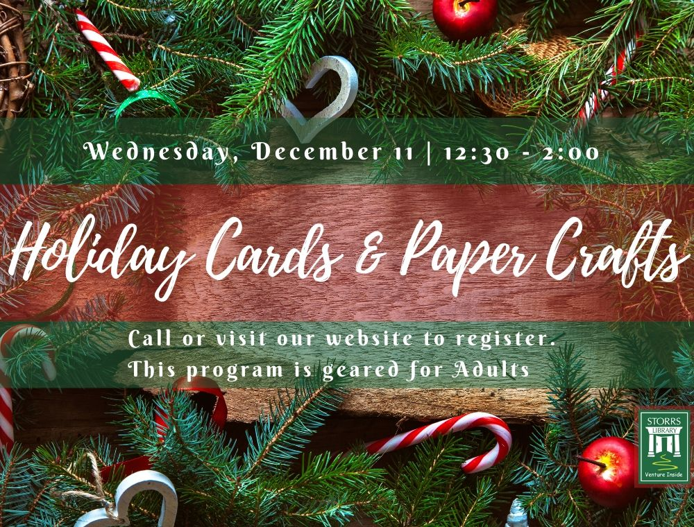 Flyer for Holiday Crafts