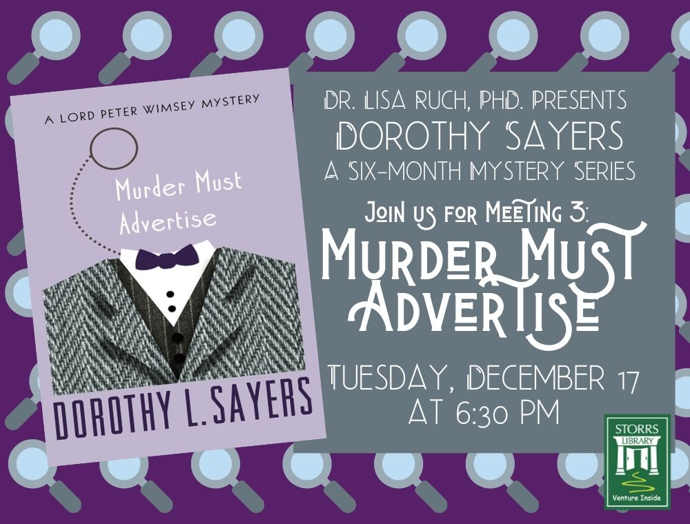 Flyer For Dorothy Sayers