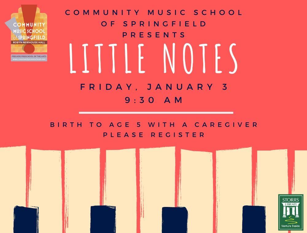 Flyer For Little Notes