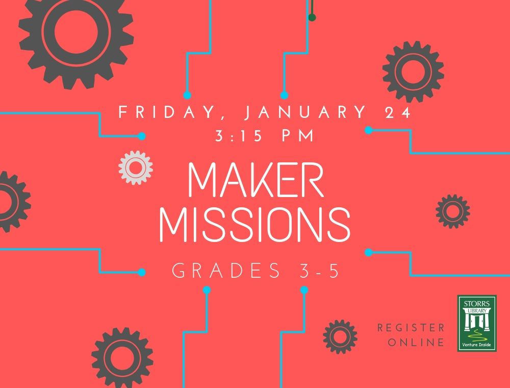 Flyer for Maker Missions
