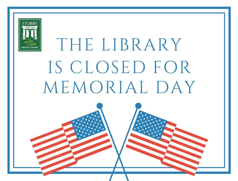 Library Closed Memorial Day