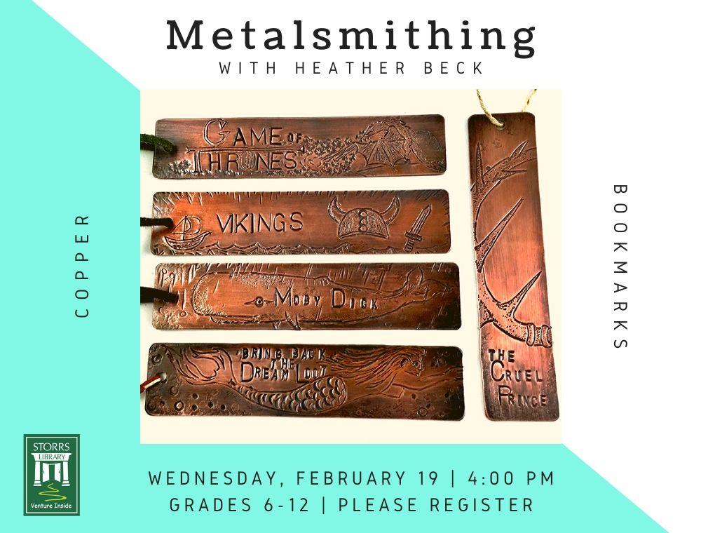 Metalsmithing With Heather Beck