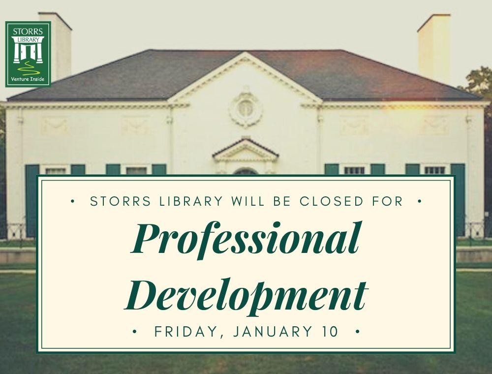 Flyer for Professional Development