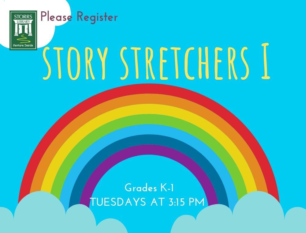 Flyer for Story Stretchers I