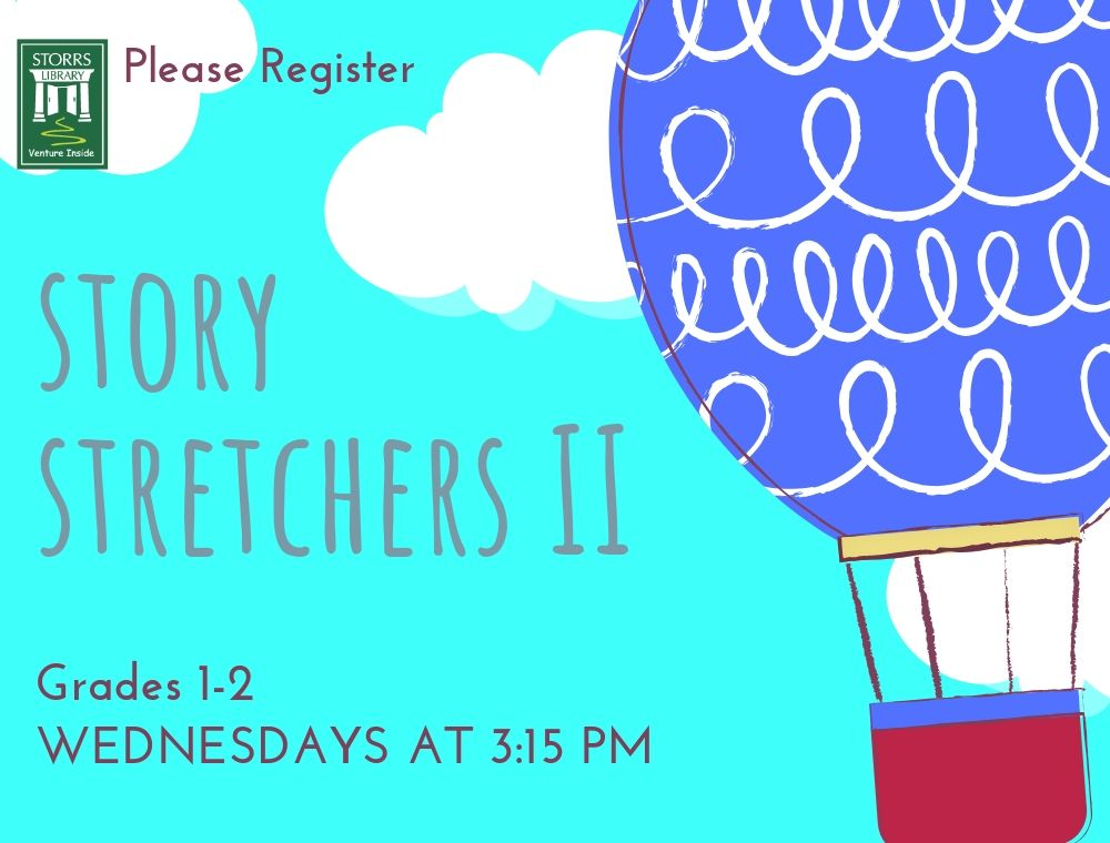 Flyer for Story Stretchers II