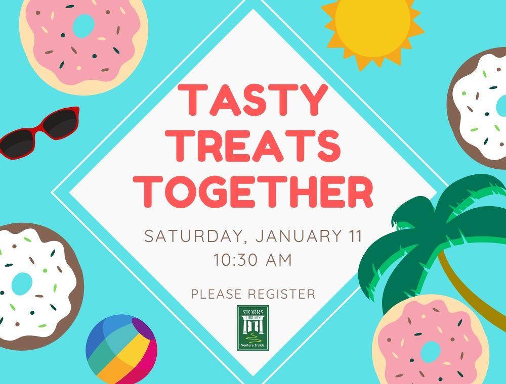 Flyer for Tasty Treats Together