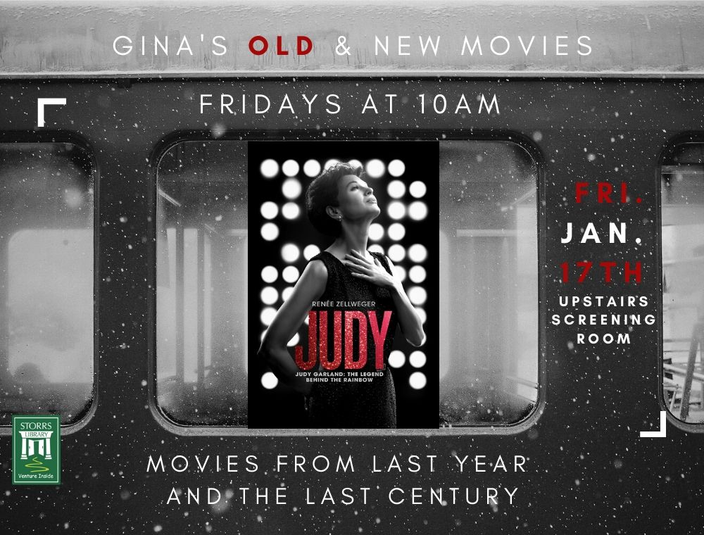 Flyer for Gina's Movies Old and New Judy