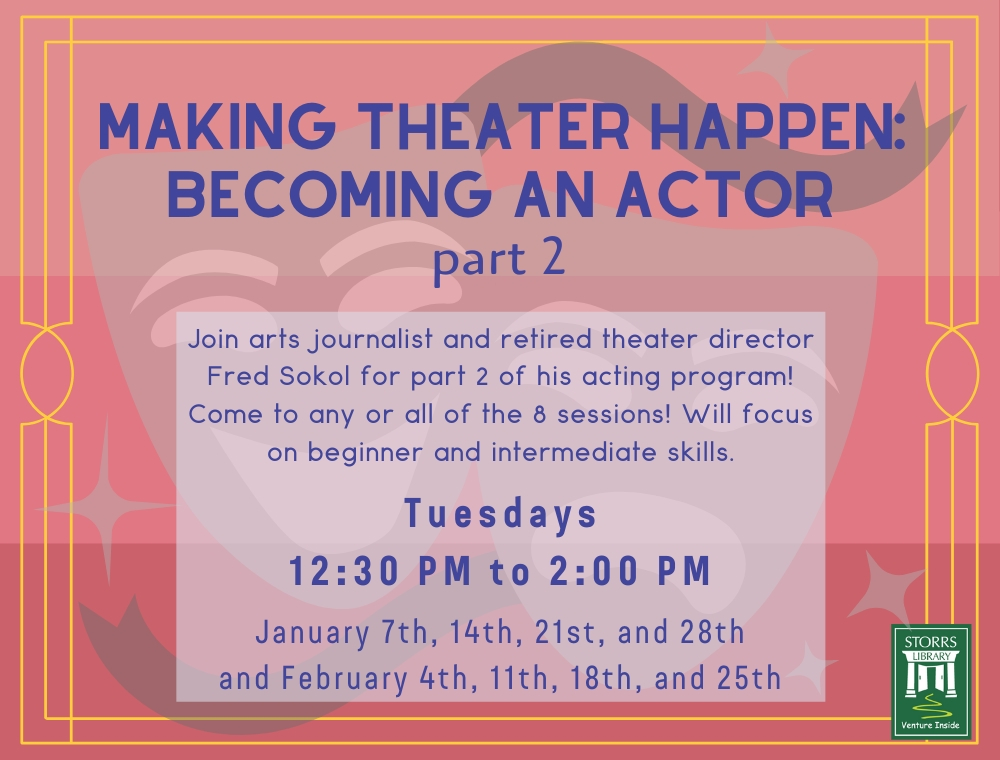 Flyer for Making Theater Happen part 2