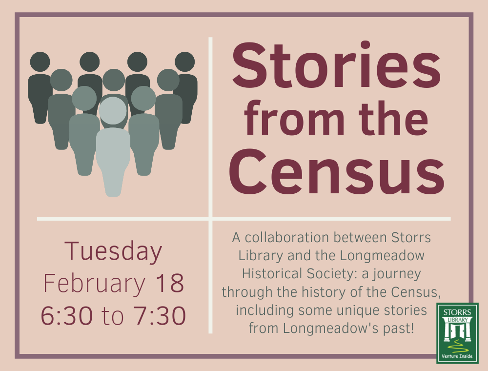 Stories from the Census program flyer