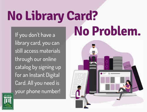 No Library Card? No Problem Flyer