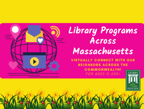Virtual Library Programs Across Massachusetts All From One Easy Place!