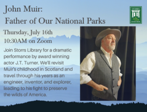 Flyer for John Muir: Father of Our National Parks