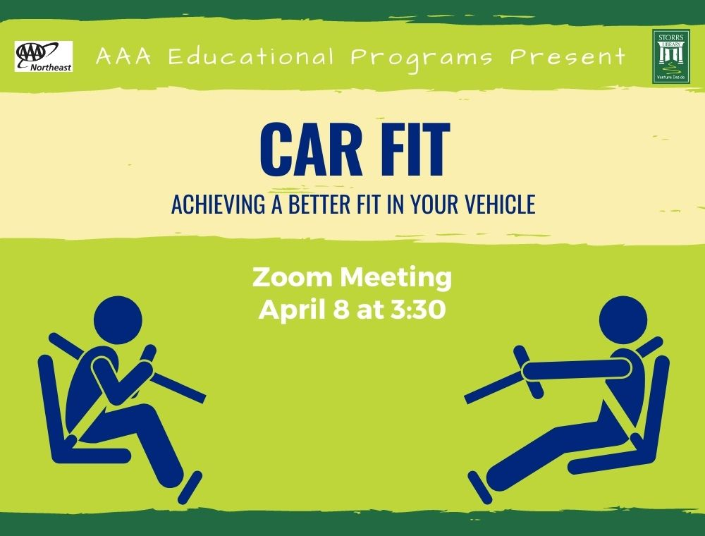 Flyer for Virtual AAA Car Fit