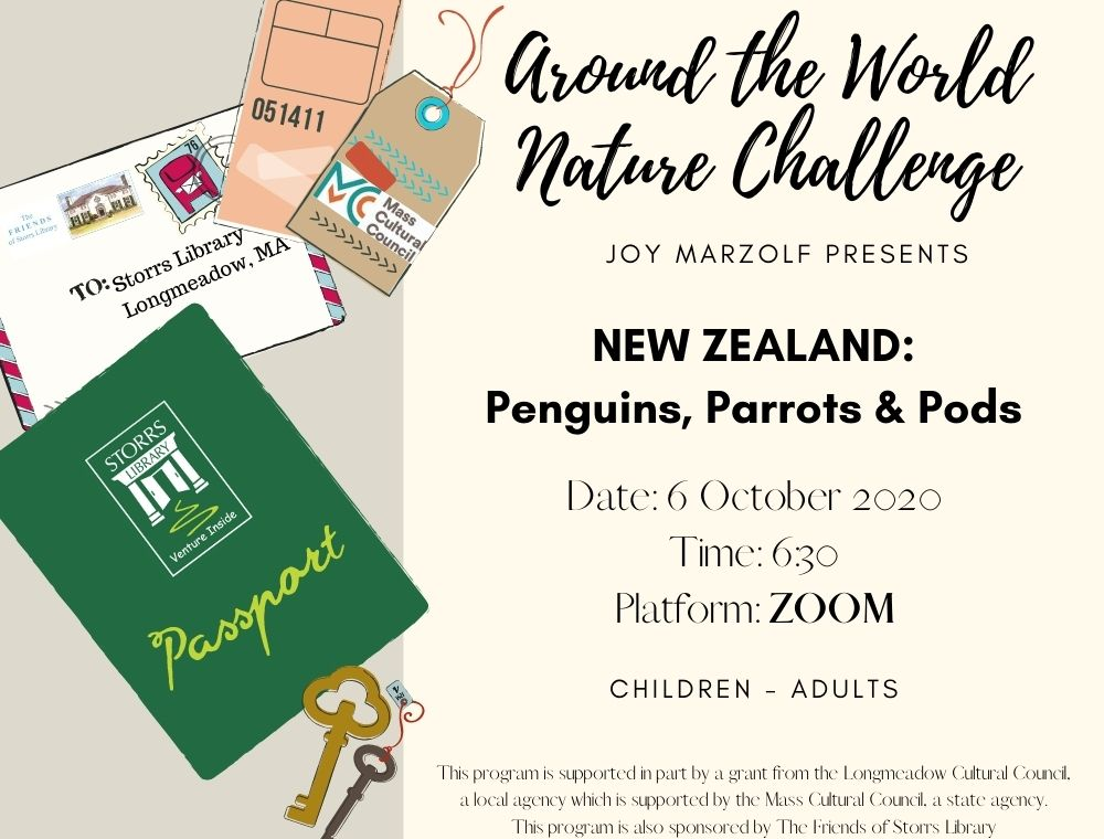 Flyer for New Zealand