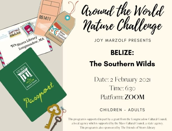Flyer for Around the World Nature Series Belize