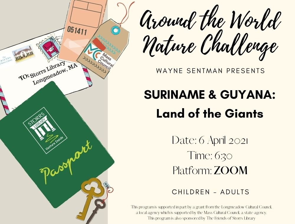 Flyer for Suriname and Guyana