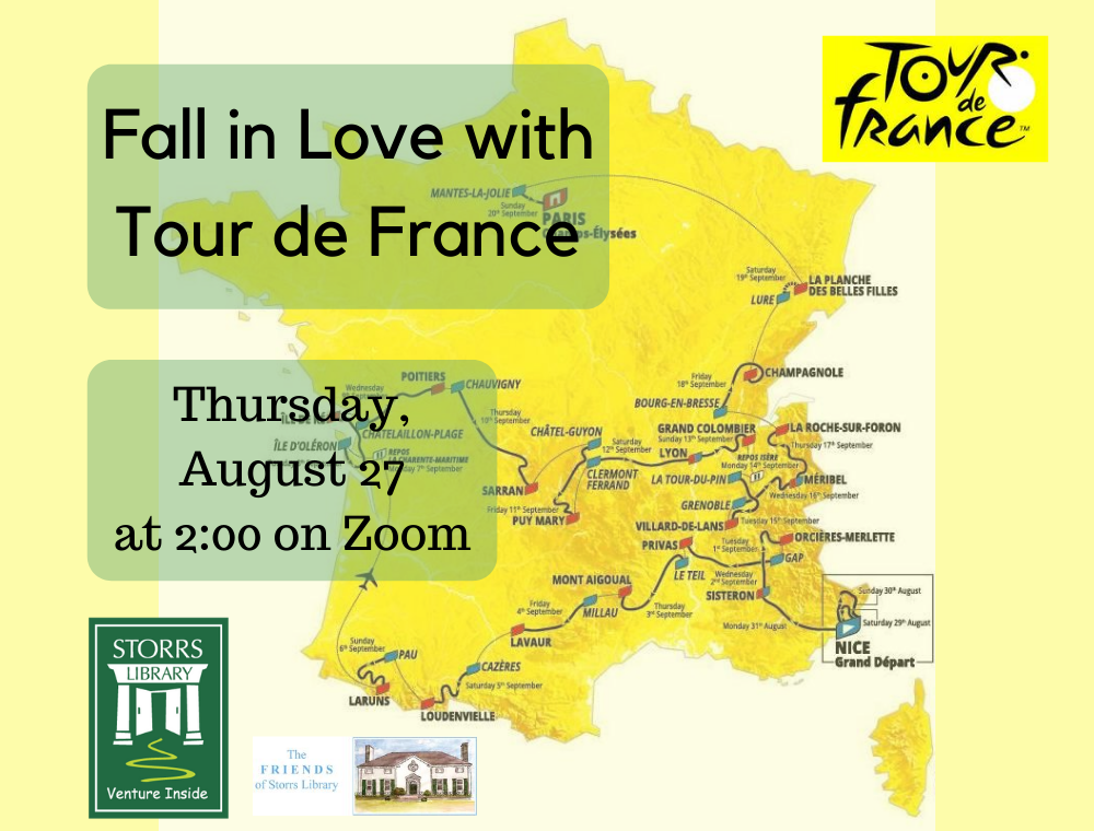 Flyer for Fall in Love with Tour de France