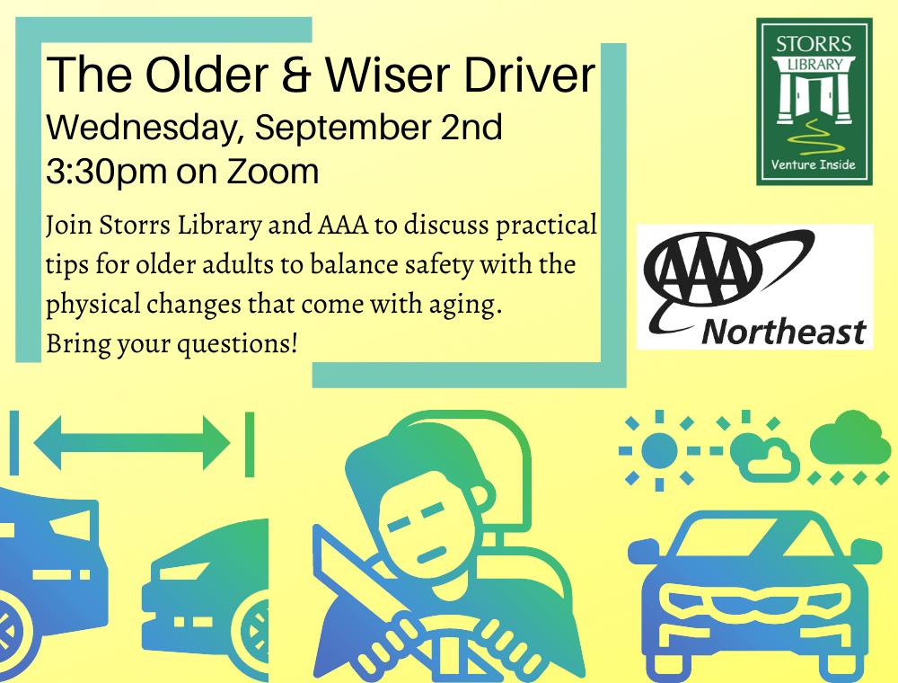 Flyer for The Older & Wiser Driver