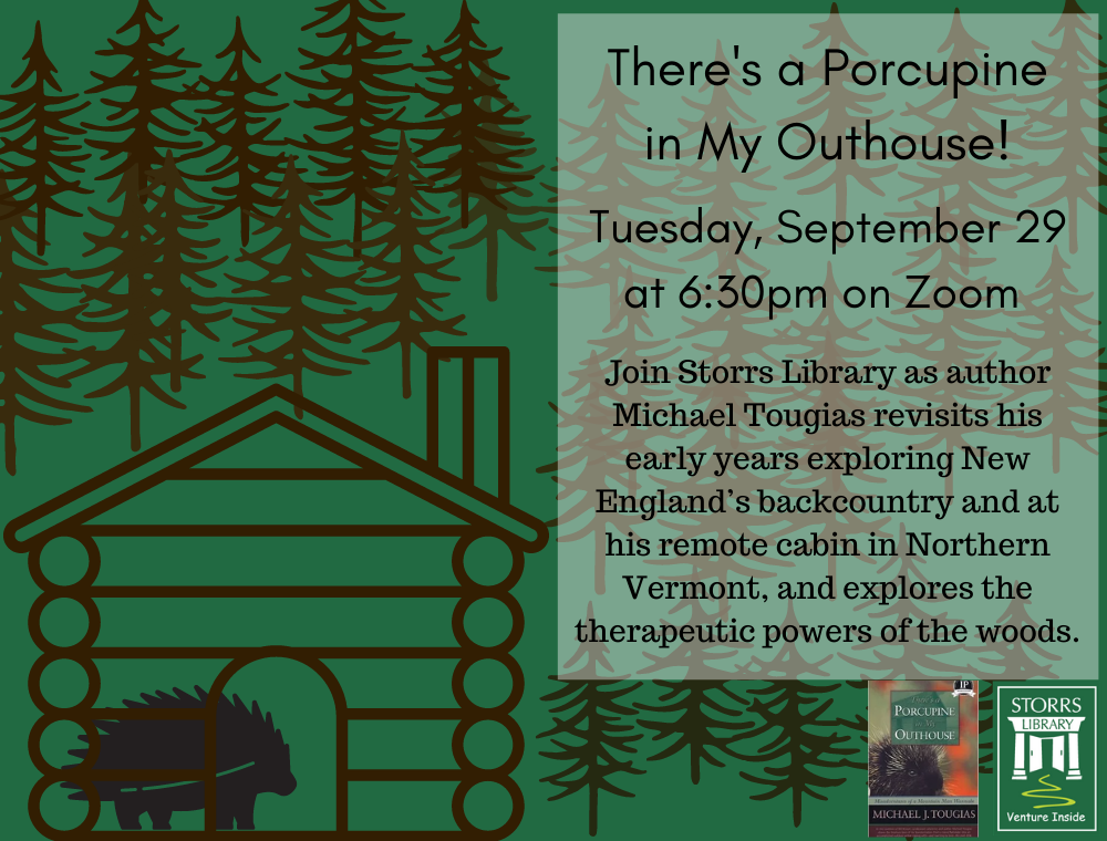 Flyer for There's a Porcupine in My Outhouse!