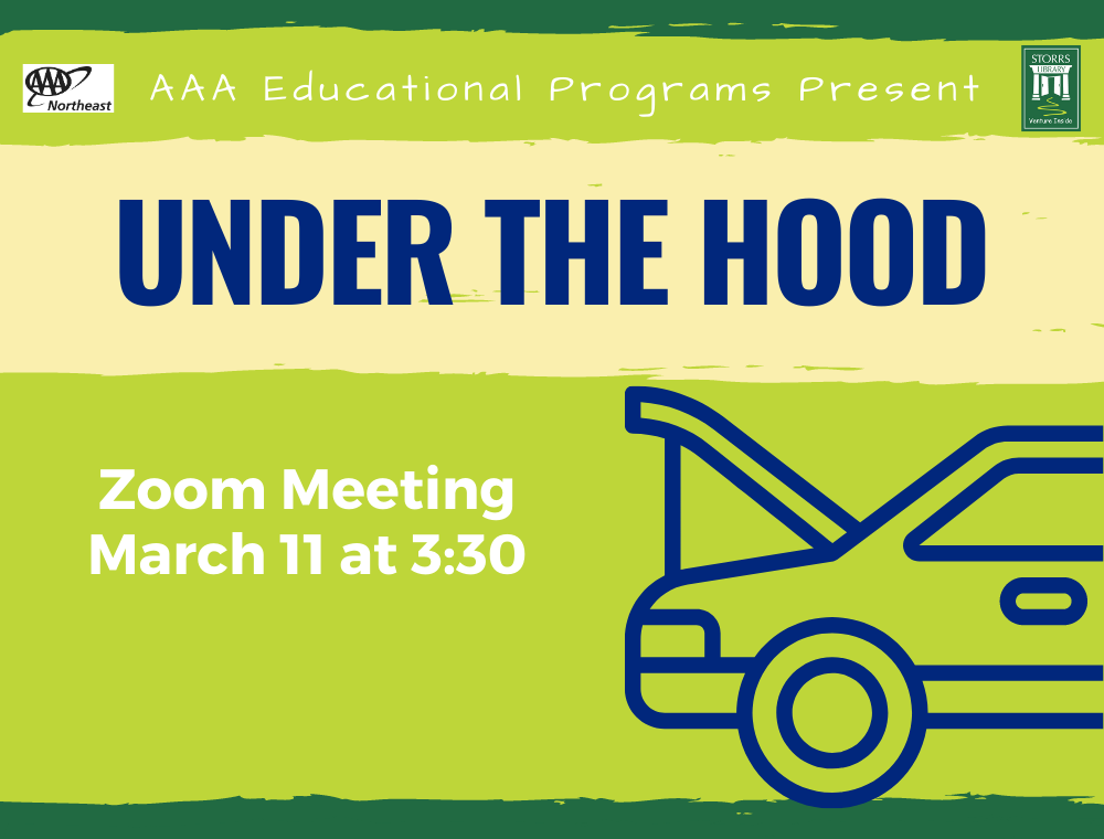 Flyer for AAA Virtual Under the Hood