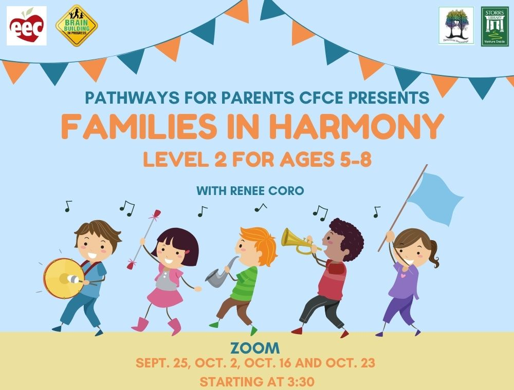 Flyer for Families in Harmony Level 2