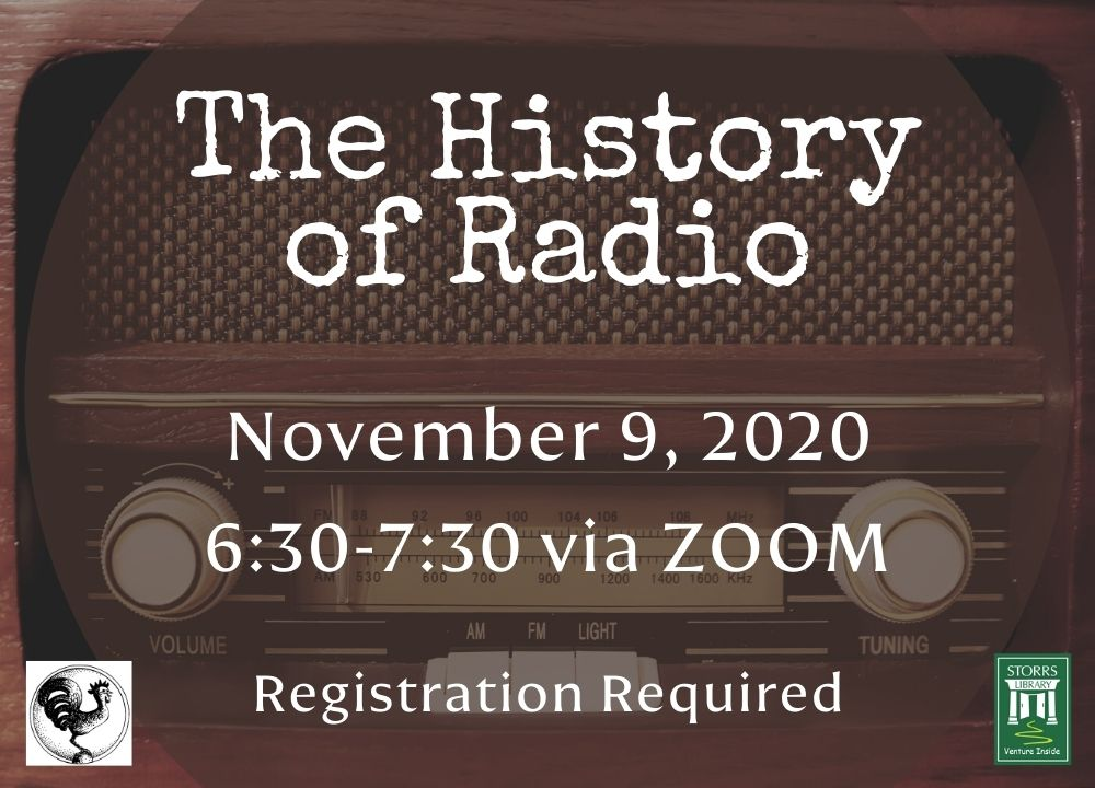 Flyer for The History of Radio