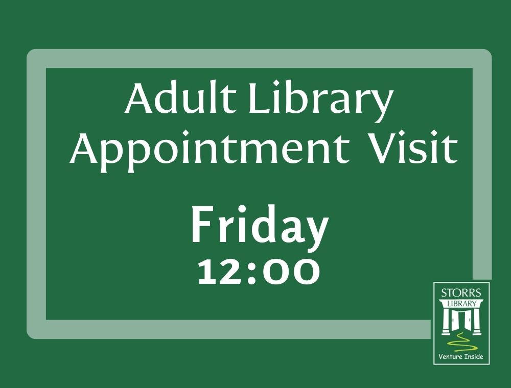 Adult Appointment Friday 12:00