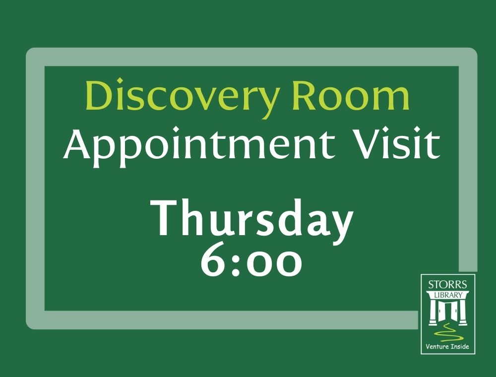 Discovery Room Appointment 6:00 pm