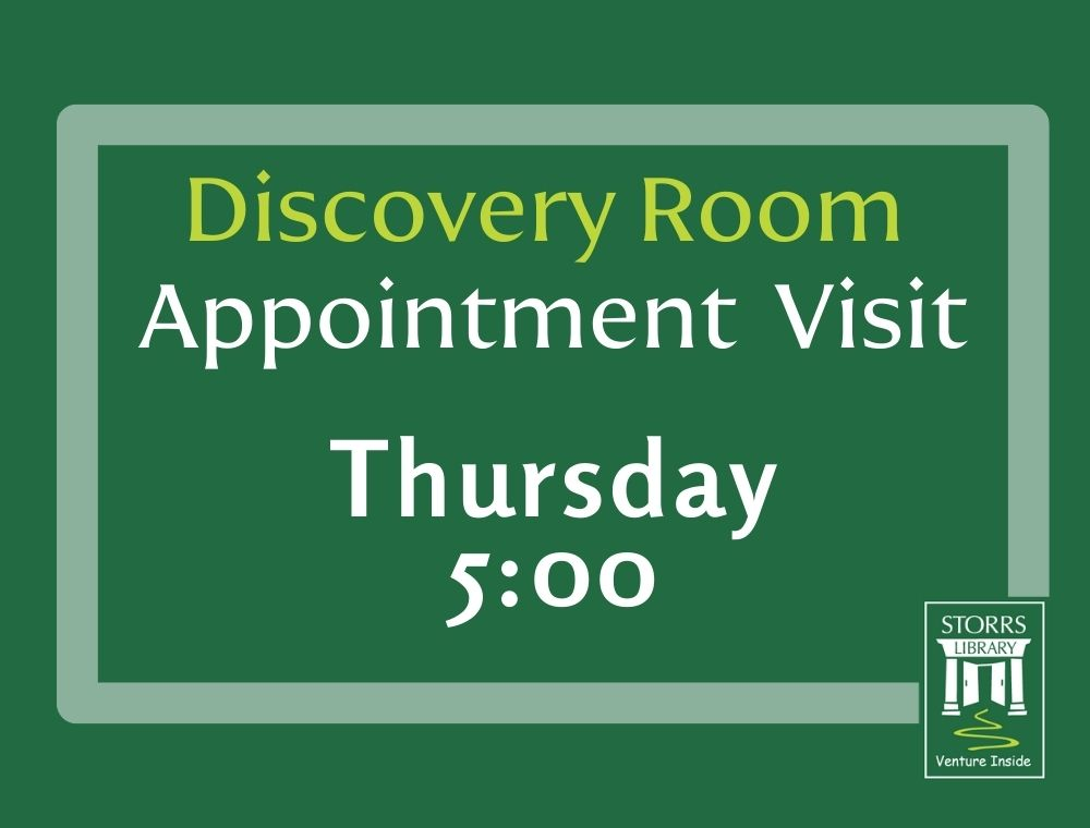 Discovery Room Appointment 5:00 pm