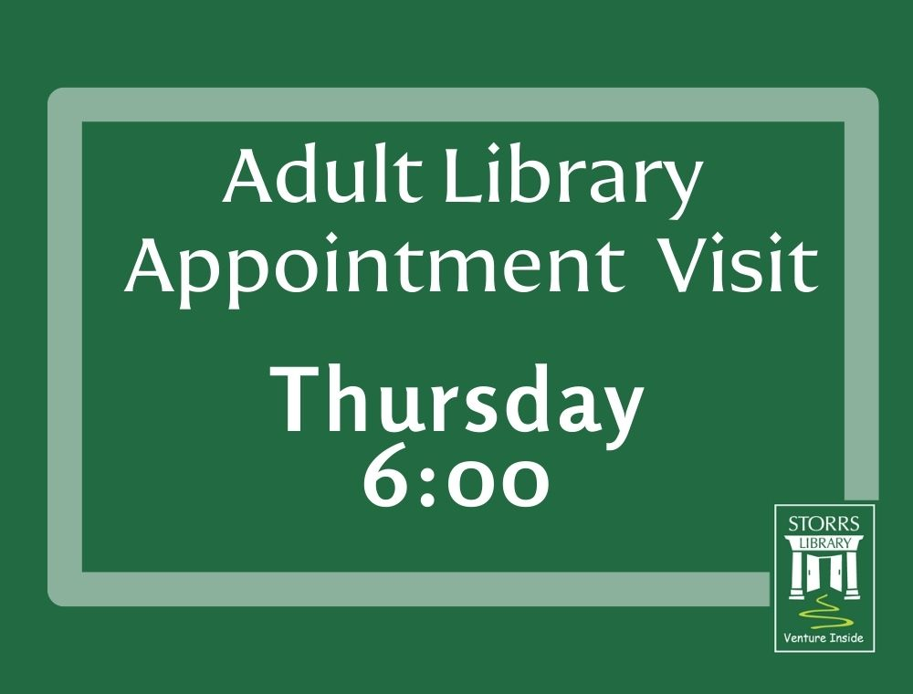 Adult Appointment Thursday 6:00