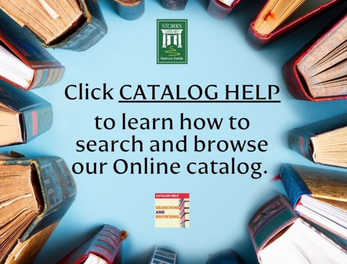 Learn How To Search And Browse Our Online Catalog.