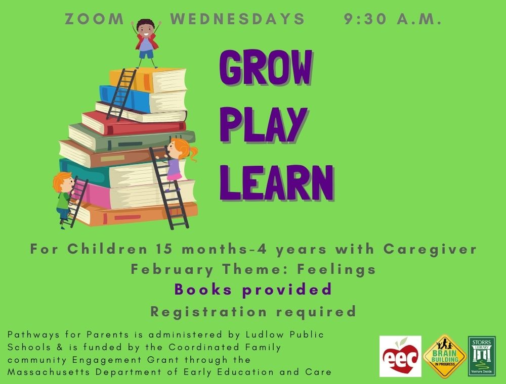 Flyer for Grow Play Learn