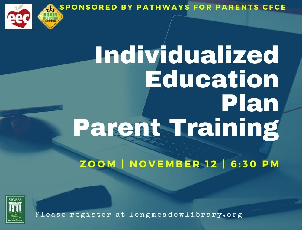 Flyer for IEP Training