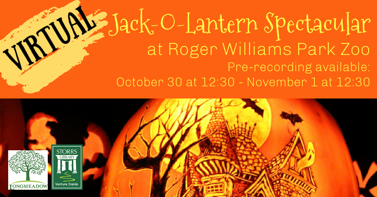 Flyer for Jack-O-Lantern Spectacular at Roger Williams Park Zoo