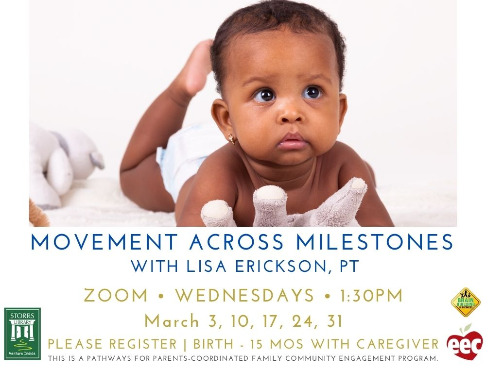 Flyer for Movement Across Milestones