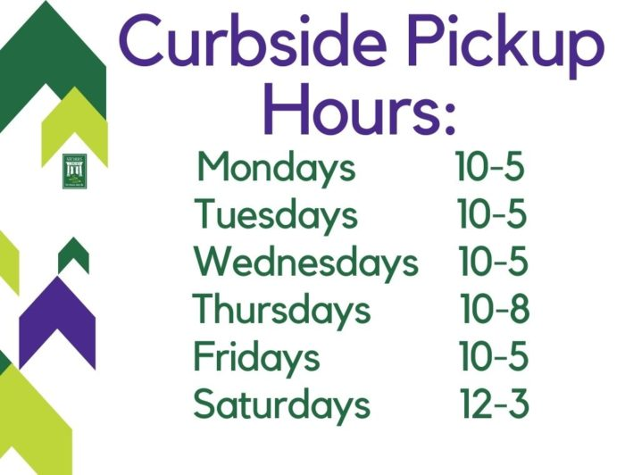 Picture Of Curbside Pick Up Hours