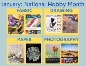 Flyer for January: National Hobby Month