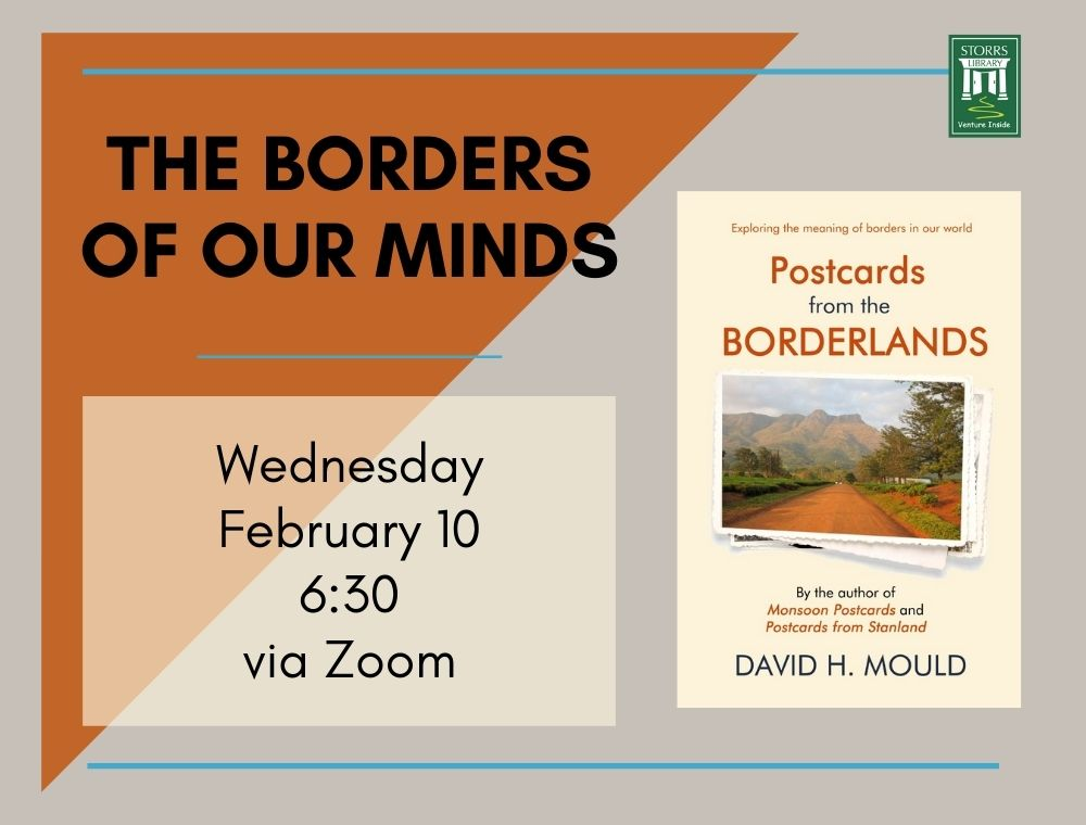 Flyer for The Borders of Our Minds