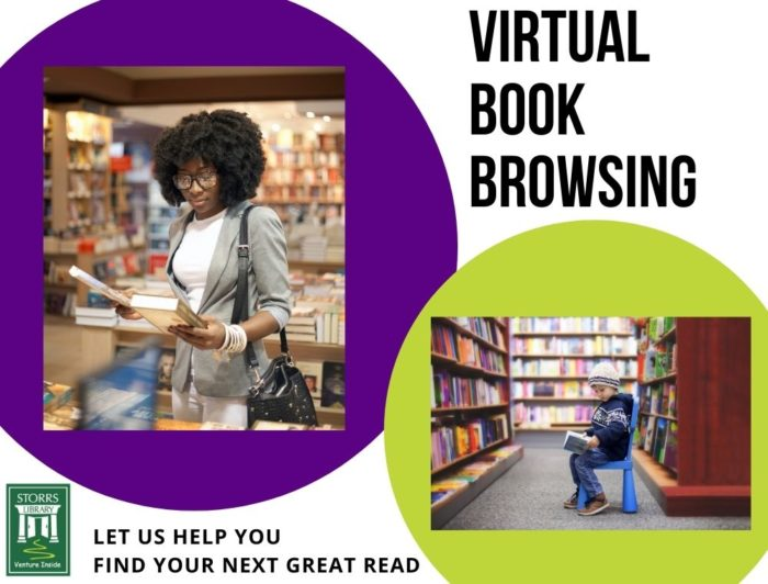 Flyer For Virtual Book Browsing