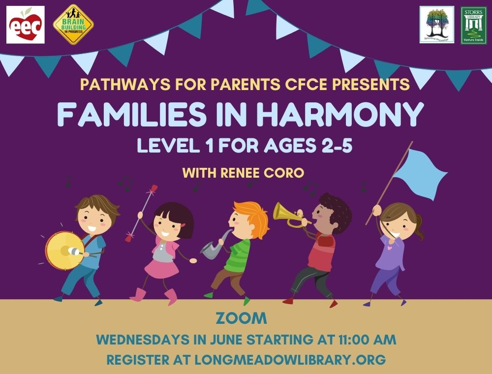 Flyer for Families in Harmony Level 1 for ages 2-5
