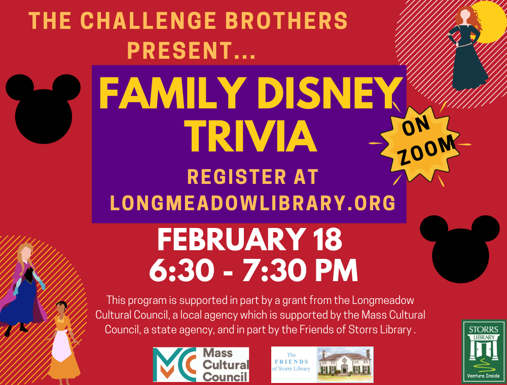 The Challenge Brothers present Virtual Family Disney Trivia
