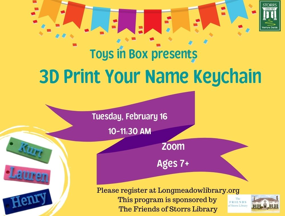 Flyer for 3D Printing for ages 7+