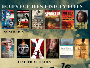 Flyer for History and Historical Fiction for Teens