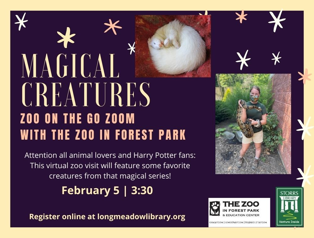 Flyer for Zoo on the Go Magical Creatures