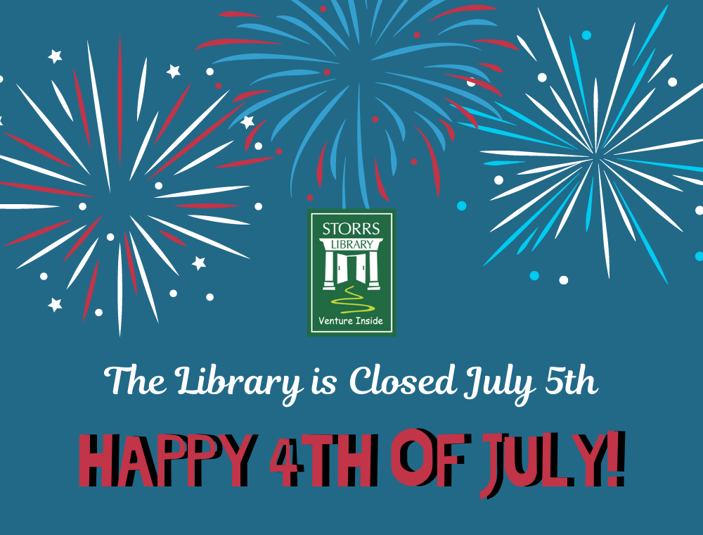 The Library is Closed July 5
