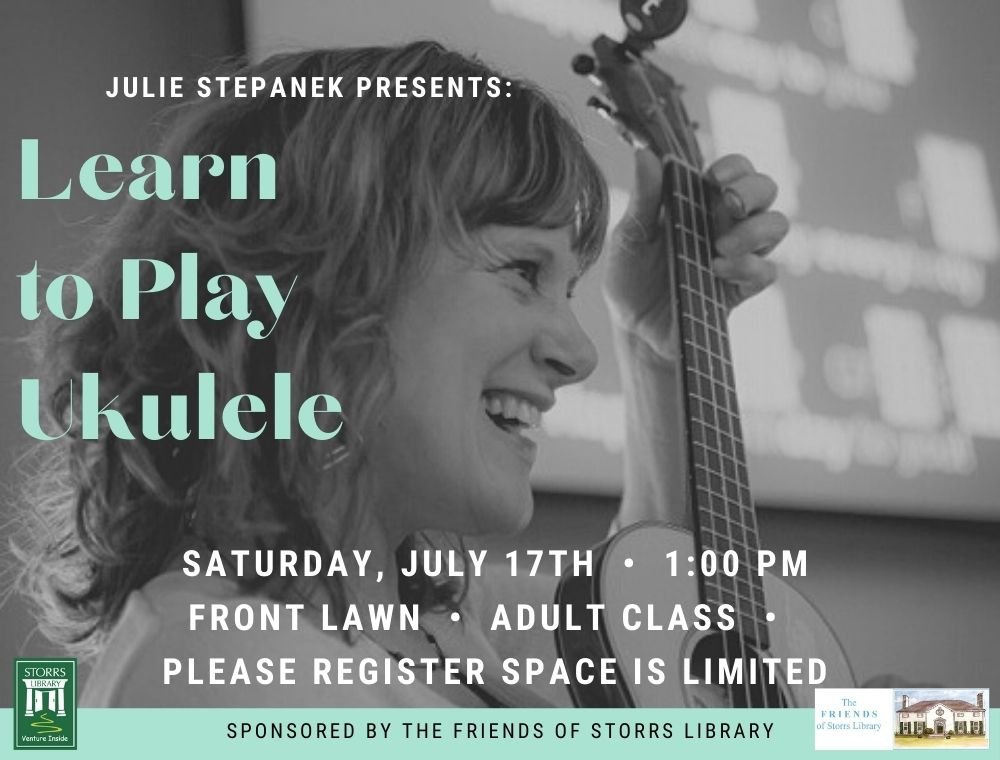 Flyer for Learn to Play Ukulele for Adults