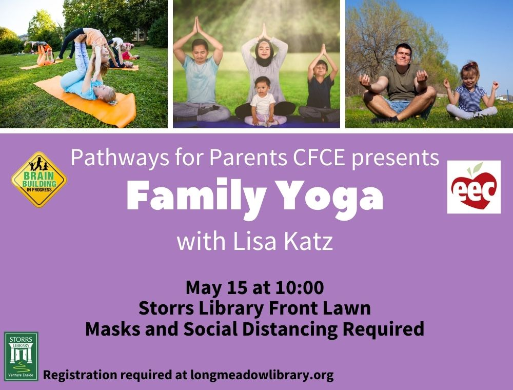 Flyer for Outdoor Family Yoga