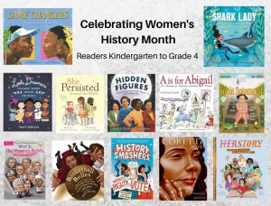 Women's History Month K to Grade 4